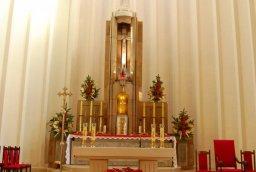 Świąteczny wystrój kościoła 30.12.2013